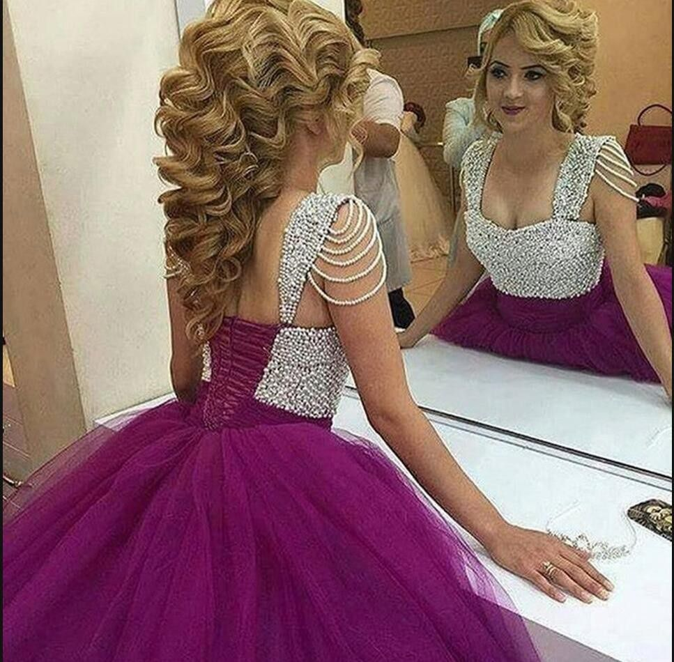 Ball gown prom dressesprom dresscrystals prom gownssweetheart