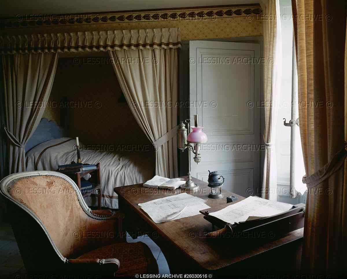 chateau de sache in this room honore de balzac 1799 1850. Black Bedroom Furniture Sets. Home Design Ideas