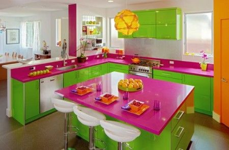 Colourful Concepts:Artistic Kitchen Designs   Decoration STAR ...