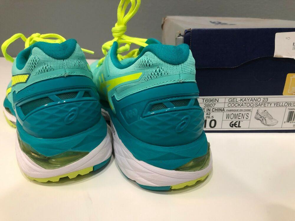 buy popular 3633c cc10f ASICS Women's Gel-Kayano 23 Running Shoes Cockatoo/Safety ...