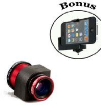 Olloclip 3in1 Fisheye, Macro, Wide Angle Lens Kit For