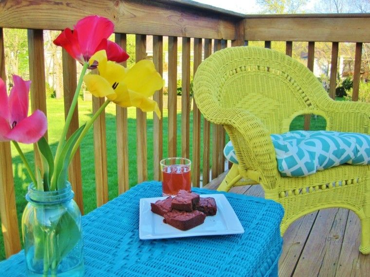 muebles de jardin de rattan | terrassa | Pinterest