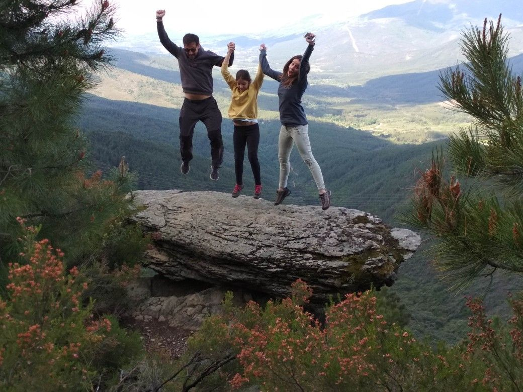 Saltos En Sierra De Gata Rutas Senderismo Sierra
