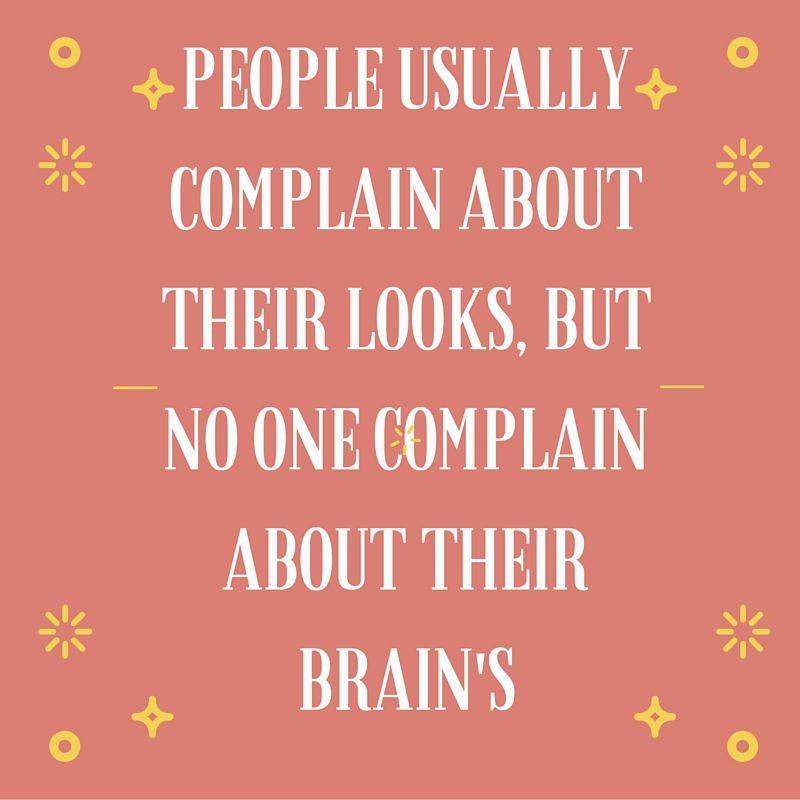 Looks and Brain