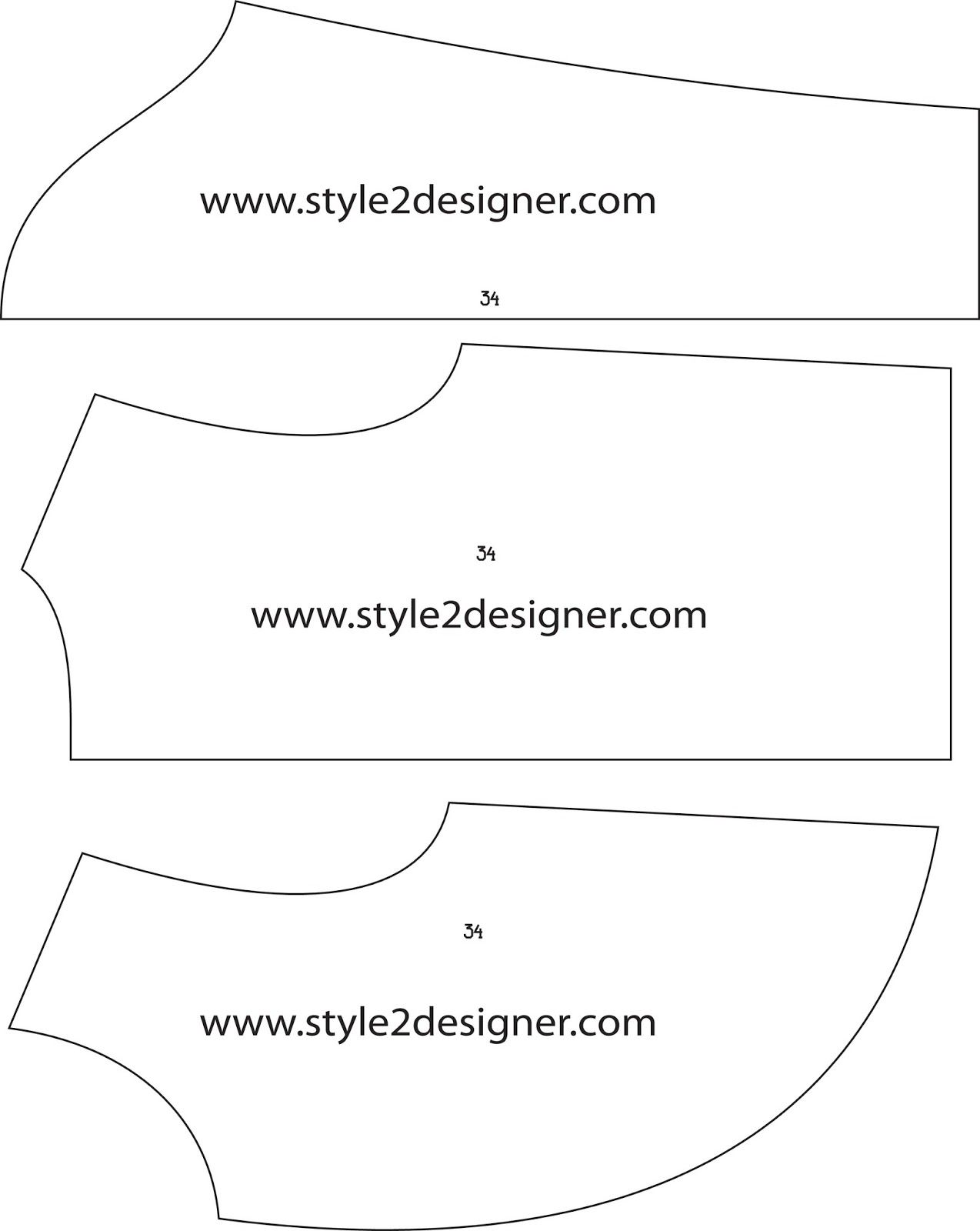 Fashion CAD Pattern Making - Free Sewing Pattern Download: Womens ...