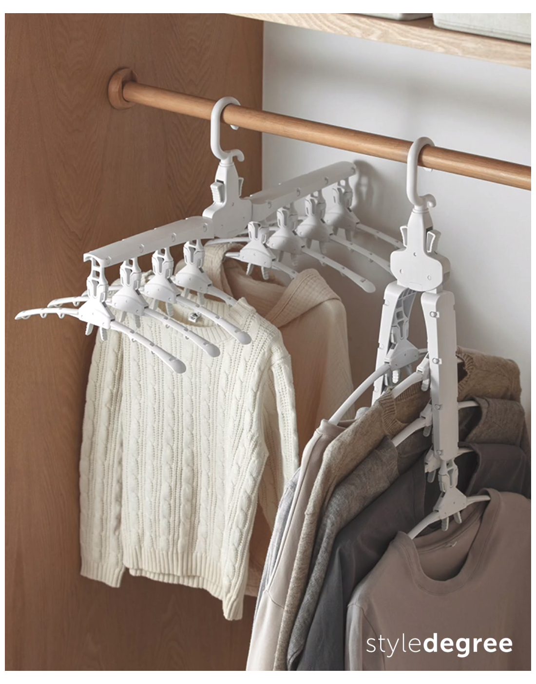 clothes hangers space saving
