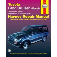 LAND CRUISER SHOP MANUAL SERVICE REPAIR TOYOTA BOOK DIESEL GREGORYS