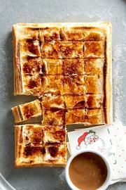 Creme Brulee Cheesecake Bars #cremebrulée
