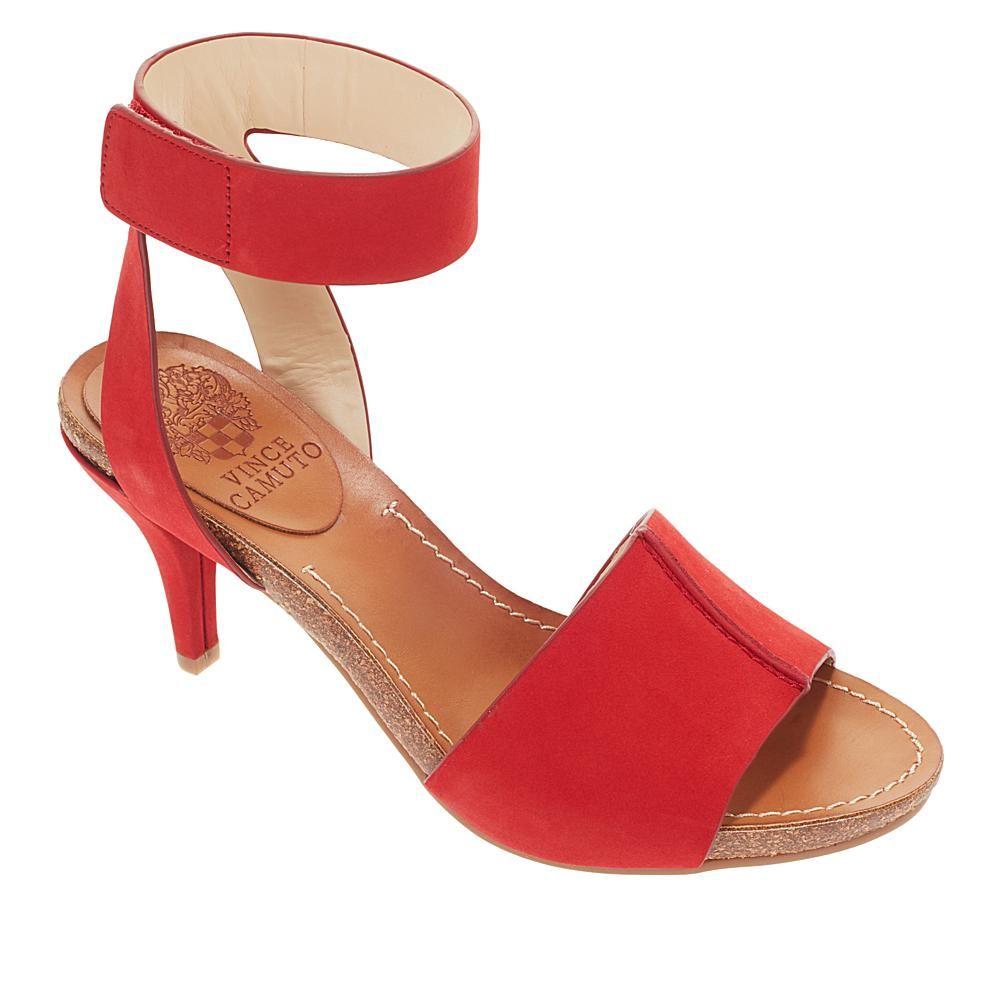 Vince Camuto Odela Leather Ankle Strap