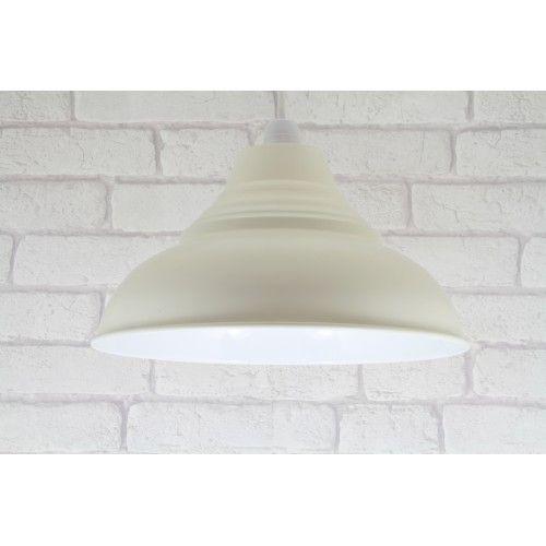 12 30cm vintage retro metal lamp shade ceiling pendant light 12 30cm vintage retro metal lamp shade ceiling pendant light lampshade cream aloadofball Gallery