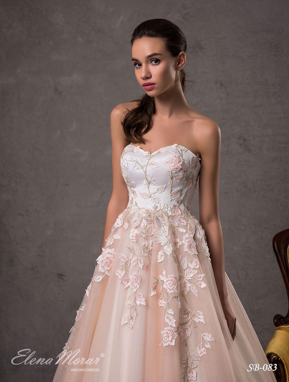 Wedding Dress By Elena Morar Designer In Charmé Gaby Bridal Gown Boutique Clearwater Fl