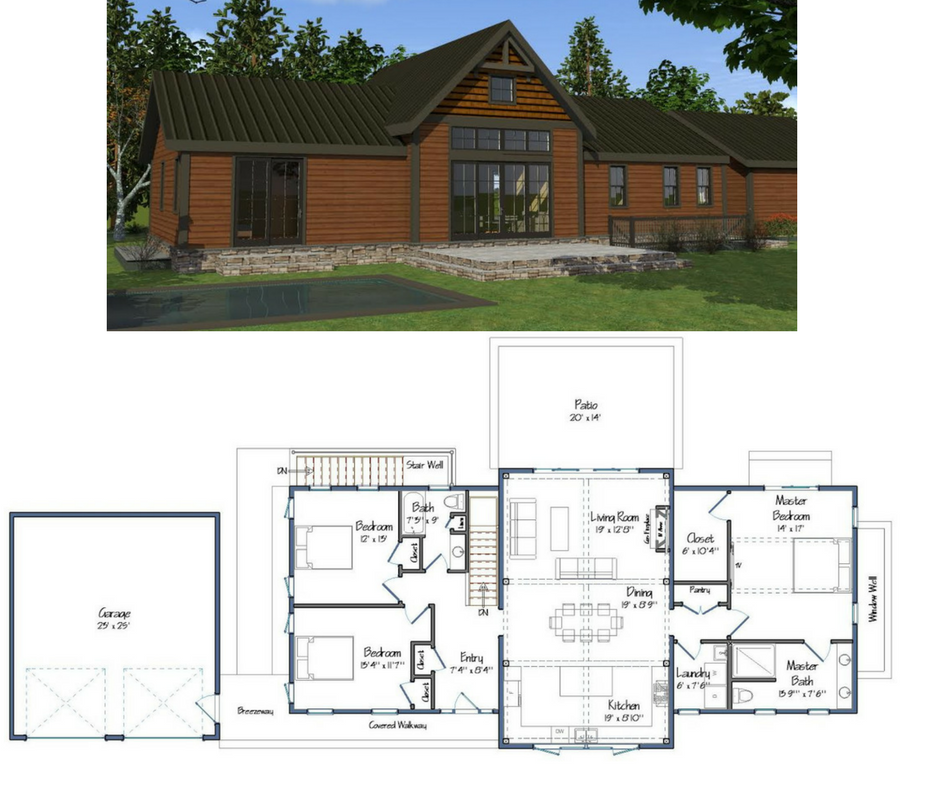 Wildwood Barn House Plans Barn Homes Floor Plans Barn House Design