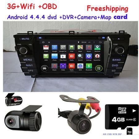 Автомобильный DVD плеер TYL 4.4.4 GPS DVD Toyota COROLLA GPS Bluetooth USB/SD 3G WIFI  — 30708 руб. —