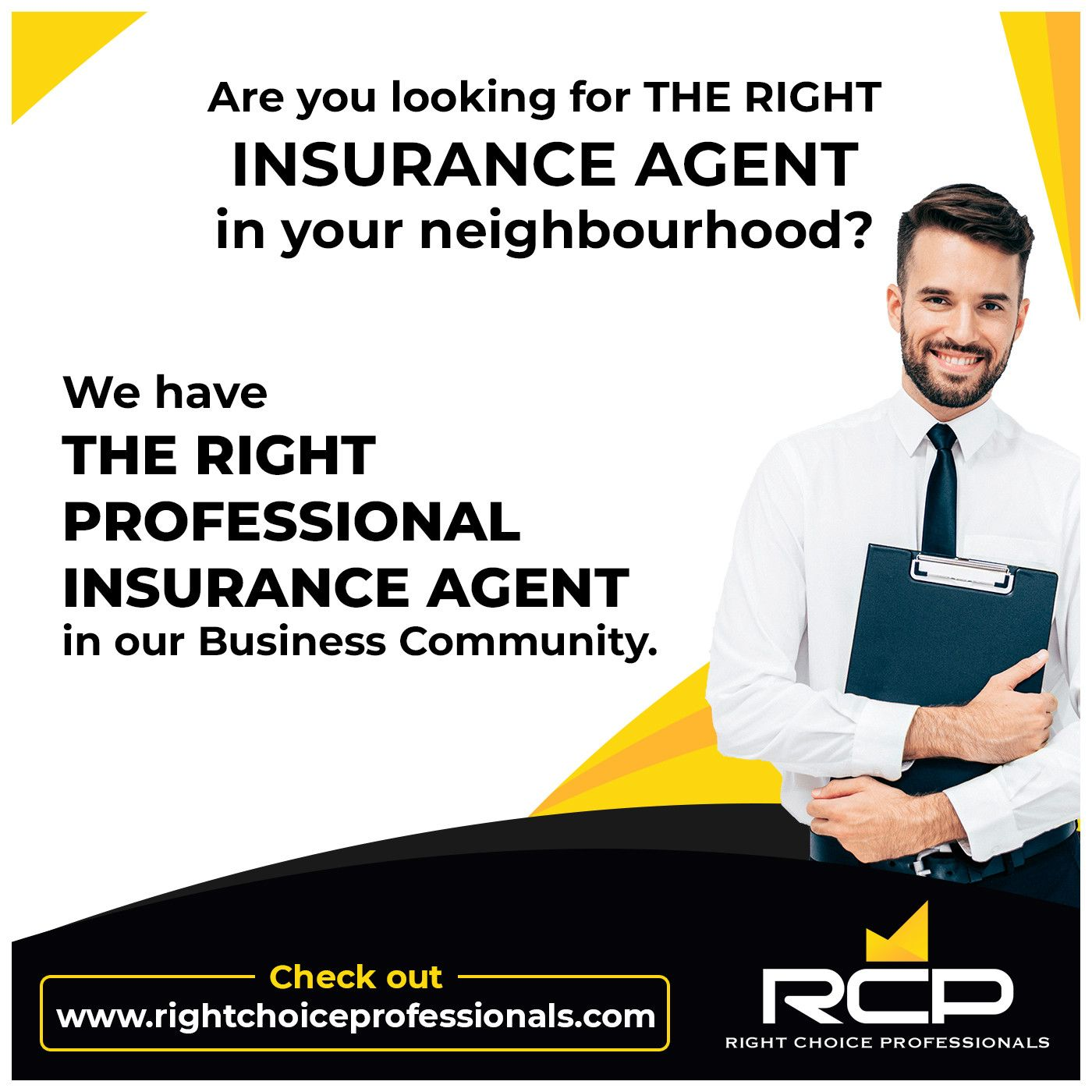 Are You Looking For The Right Insurance Agent In Your Neighborhood
