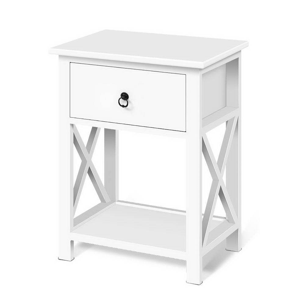 Bedside Tables Drawers Side Table Nightstand Lamp Chest Unit Cabinet X2 Pay Later With Afterpay Zip Or Laybuy And Get Fast A In 2020 Bedside Table Drawers Nightstand