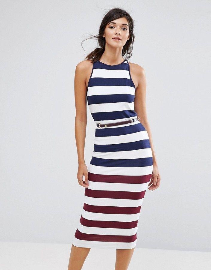 892e38e030da6c Ted Baker Yuni Stripe Bodycon Dress
