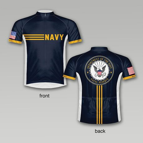 U.S.Navy Vintage Cycling Jersey