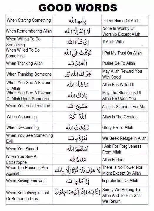 etiquette phrases