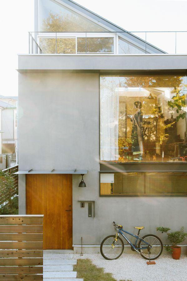 Pin von aurelie auf haus pinterest architektur for Minimalistisches kleines haus