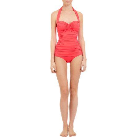 Norma Kamali Bill Mio Swimsuit at Barneys.com  for da beach, mon