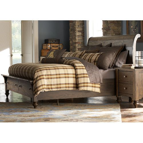 found it at wayfair solid living storage sleigh bed