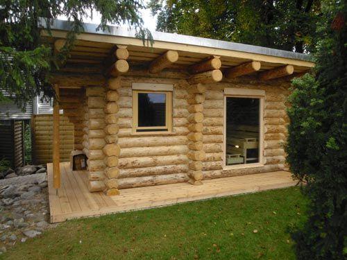 Rundstammhaus in der Schweiz Haus, Blockhaus bauen