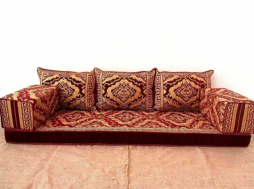 Floor Seat Sofa Arabic Turkish Majilis Oriental Sofas Set Pillow Cushion Color Handmade Kilim 2020