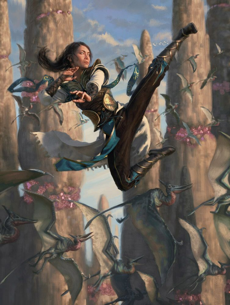 Narset Of The Ancient Way Magic The Gathering Yongjae Choi On Artstation At Https Www Artstation Com In 2020 Mtg Art Dungeons And Dragons Art Magic The Gathering