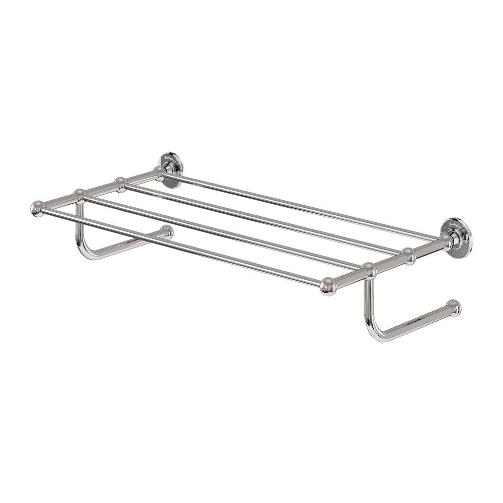 Burlington Chrome Towel Rail - A46CHR | Towel rail, Towels and Victorian