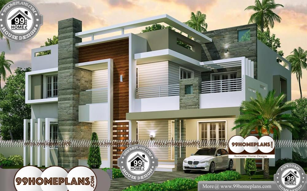 Courtyard House Plans Kerala Style & Two Storey House