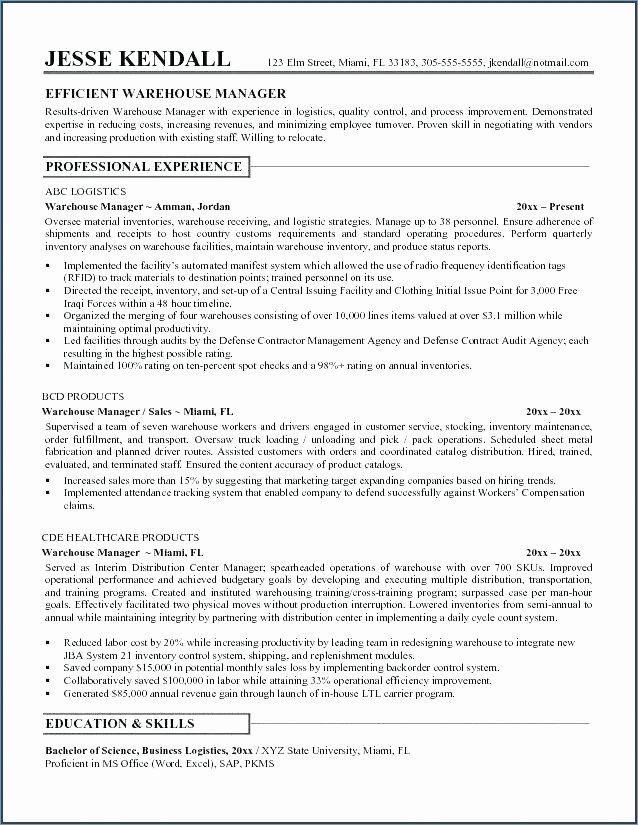 Packer Job Description Resume Unique Warehouse Responsibilities Resume Emelcotest In 2020 Warehouse Resume Resume Objective Examples Job Resume