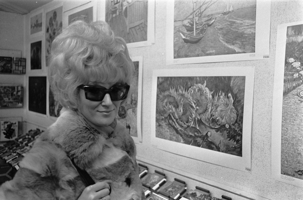 At the Tate, 1968