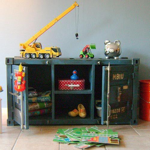 de kinderkamer online zeecontainer speelgoedkast speelhoek