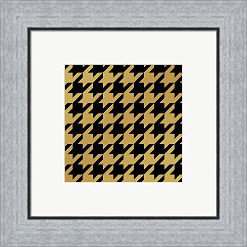 Xmas Houndstooth 5 by Color Bakery Framed Art Print Wall Picture ...