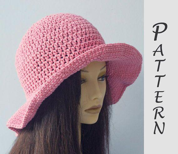Wide Brim Sun Hat Crochet Pattern c0a17a659ad