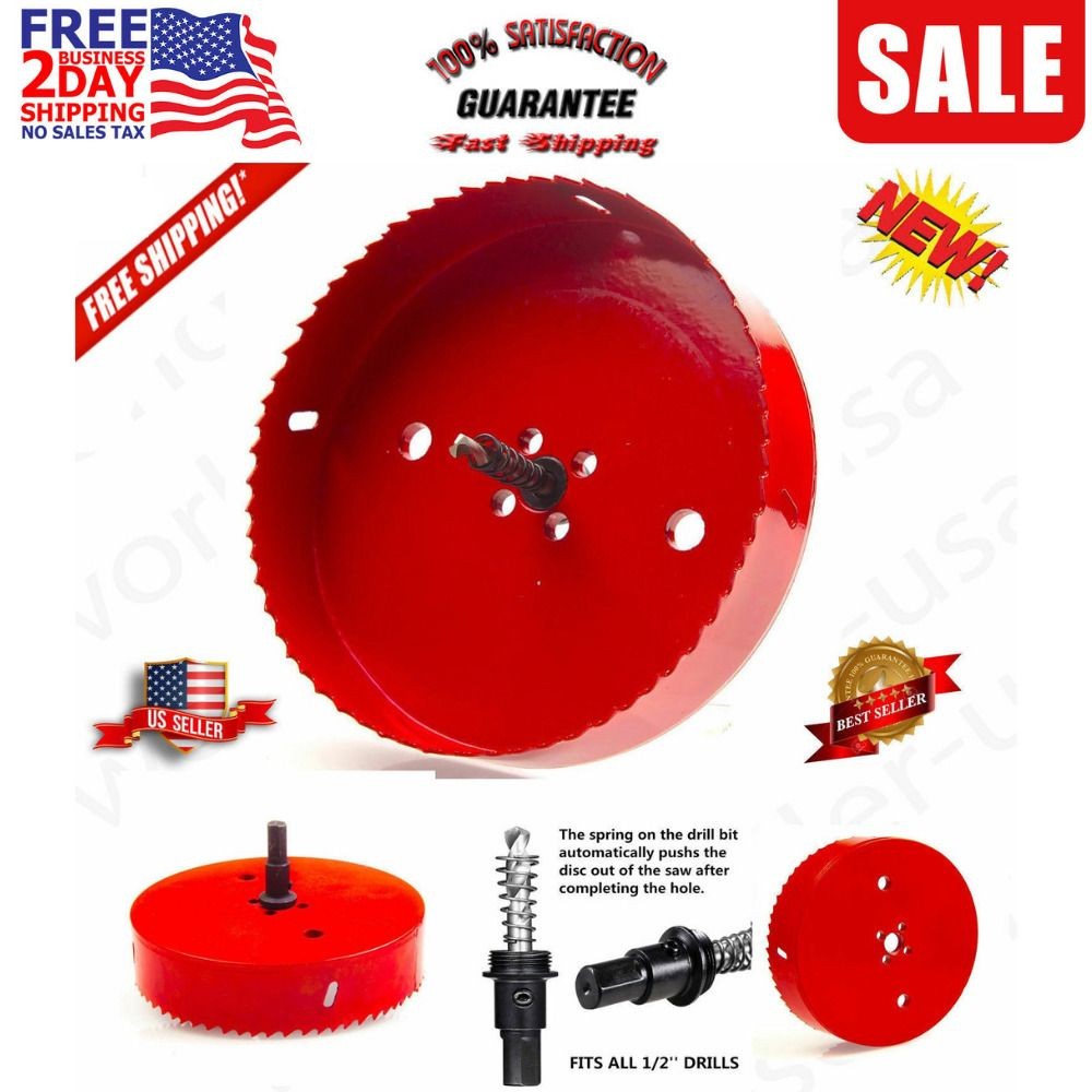 6 Inch 150 Mm Hole Saw Blade For Cornhole Boards Corn Hole Drilling Cutter Hex Unbranded Cornhole Boards Make Cornhole Boards Corn Hole Game