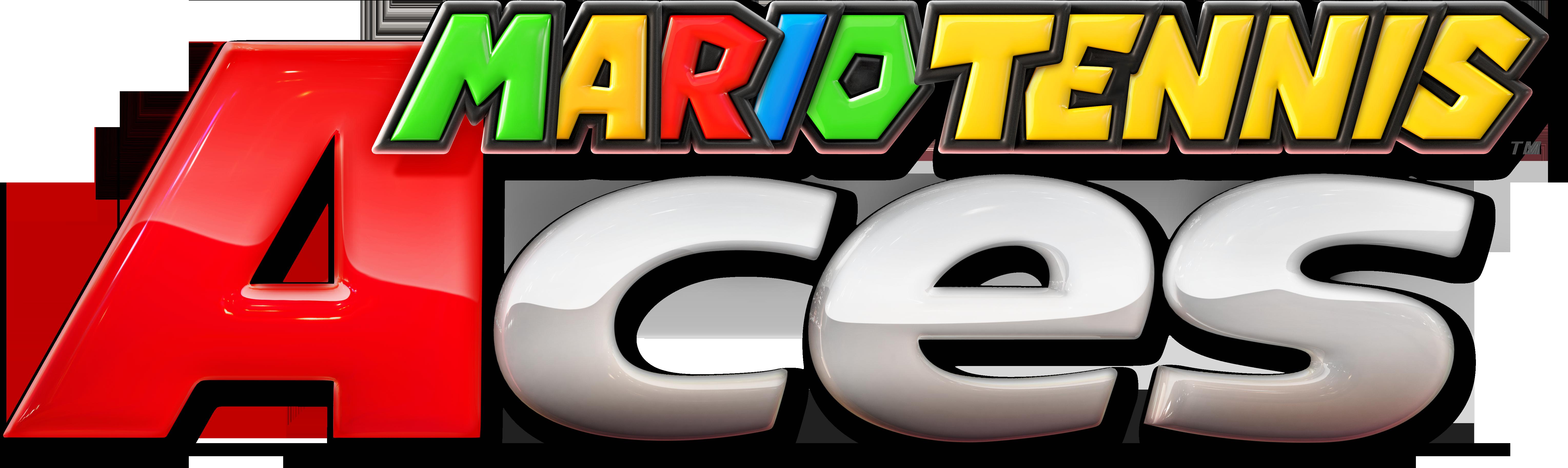 Mario Tennis Aces Logo Png Image Ace Logo Video Game Genre Logos
