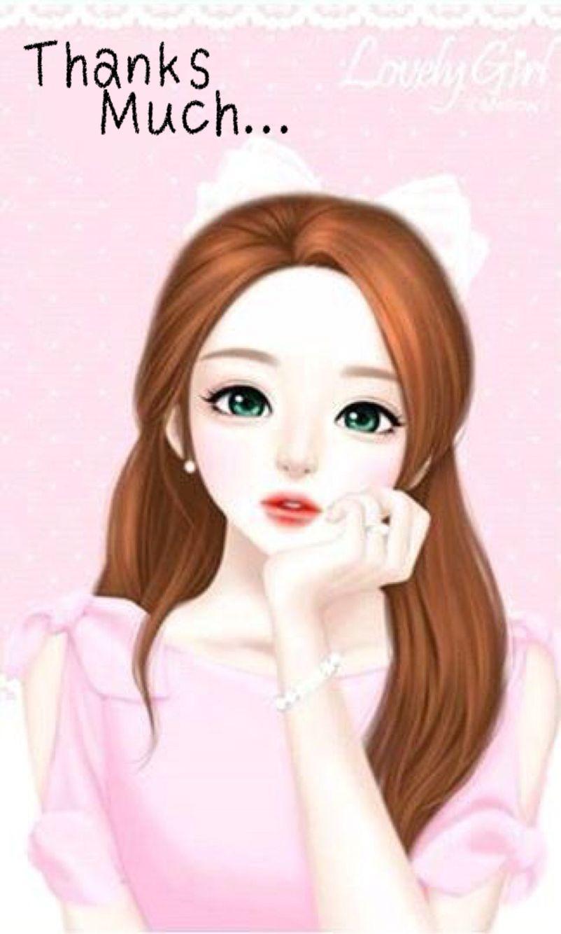Enakei Girl And Cute Image Animasi Gambar Gambar Karakter