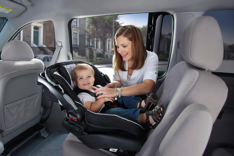 Britax B Safe Infant Car Seat Black Excellent Safety Ratings