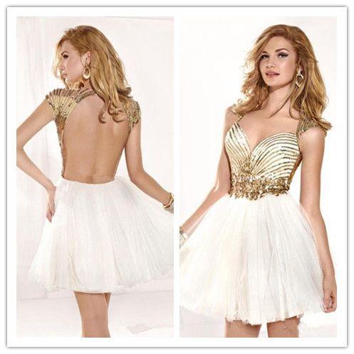 relacionados vestidos lavanda cortos de fiesta vestidos blancos con ...