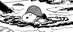 Snoopy in black & white! (165)