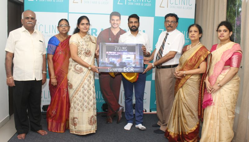 Actor Santhanam Ianugurate ZI Clinic ECR
