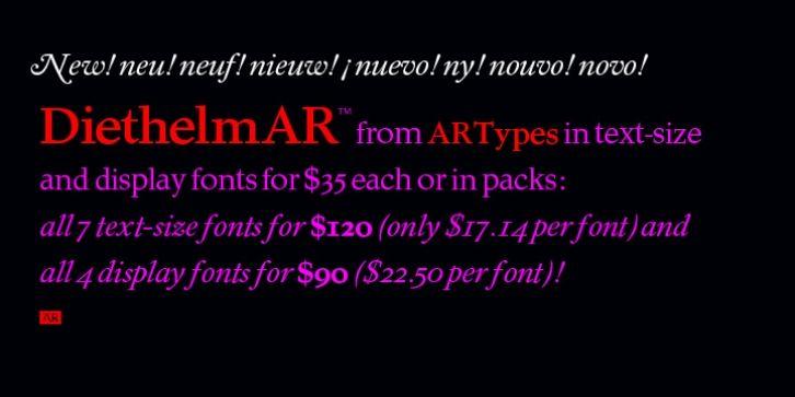 Diethelm AR™ font download   Fonts   Fonts, Premium fonts, Type design