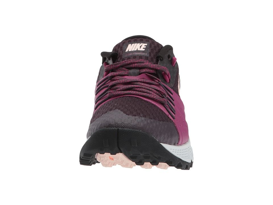 b98e170e9b9 Nike Air Zoom Wildhorse 4 Women s Running Shoes Port Wine Sunset Tint Tea  Berry
