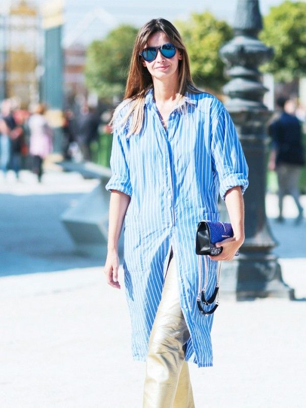 The new way to wear a shirt dress - That's Not My Age