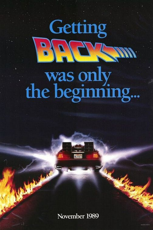 Back To The Future Part Ii Movie Poster With Images Back To