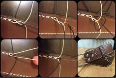 leather interesting stich