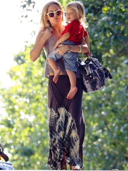 Love Tanjane Love Tanjane Poppy Skirt in Tie Dye as seen on Kate Hudson