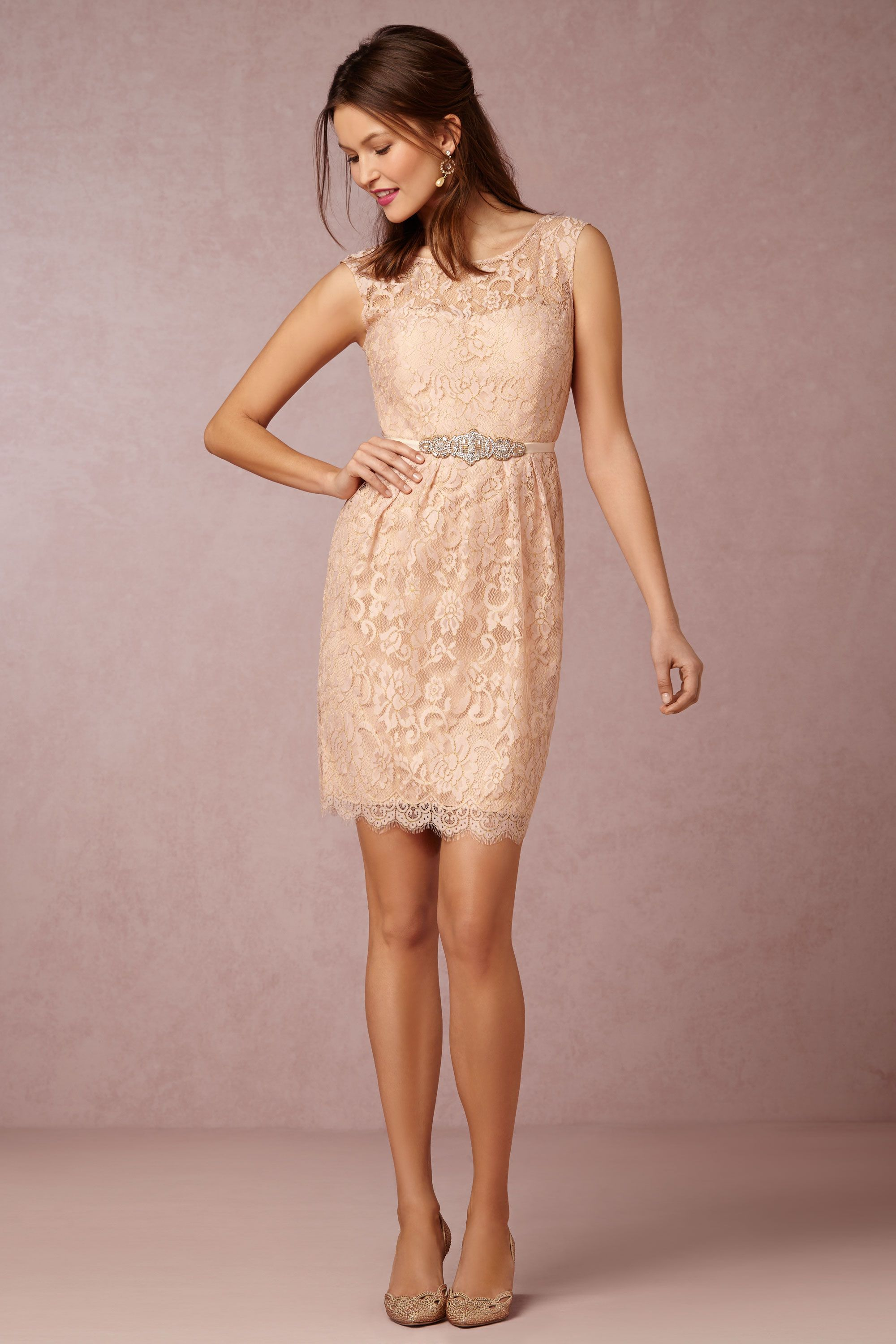BHLDN Harlow Dress in Bridal Party Bridesmaid Dresses Lace | BHLDN ...