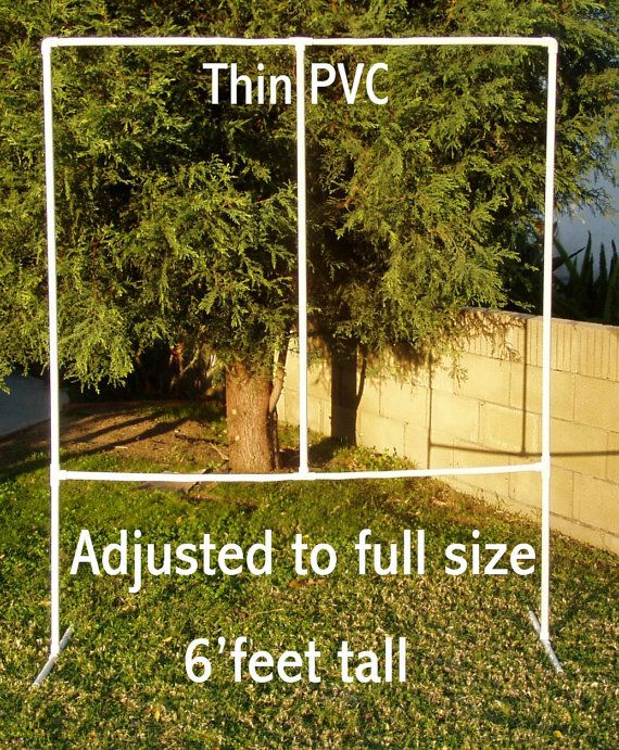 Adjustable Photography Backdrop Stand PVC By Your1stopshop